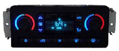 $149 • Buy Chevy GM GMC Climate Temp Control With LED Color Upgrade Rebuilt $100 Cash Back