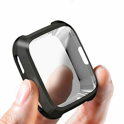 $ CDN6.57 • Buy Smart Watch Screen Protector Case Plating Full Protect Cover For Fitbit Versa