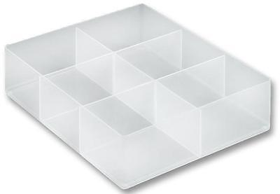 Really Useful Products Large 6 Compartment Tray  / Organiser   • 8.50£
