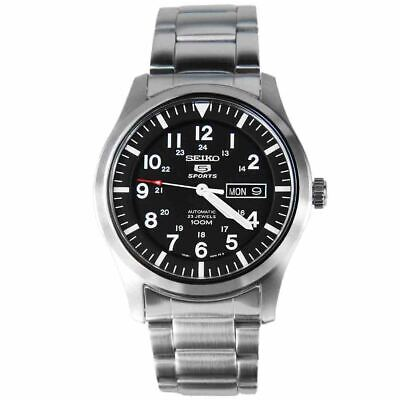 $ CDN176.52 • Buy Seiko 5 Analog SPORTS Silver Watch SNZG13K1 TRUSTED SELLER 100% Authentic