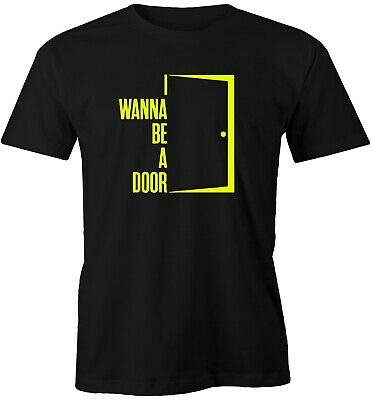 I Wanna Be A Door - Adored - Ian Brown - The Stone Roses - Parody T Shirt -funny • 10.99£