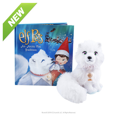 £19.99 • Buy Official Elf On The Shelf® Elf Pets - AN ARCTIC FOX TRADITION