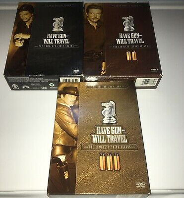$25 • Buy Have Gun Will Travel: The Complete Seasons 1,2,3 DVD