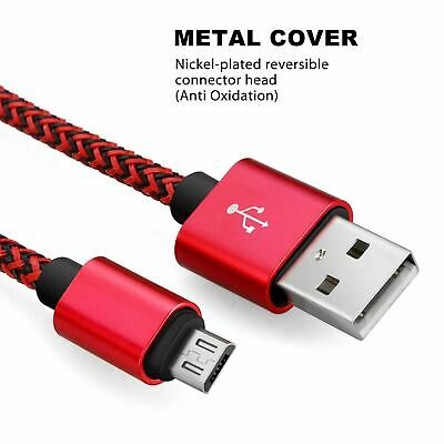 AU3.81 • Buy 1M/2M/3M Strong Braided Micro USB Data Sync Charger Cable Cord Android Samsung