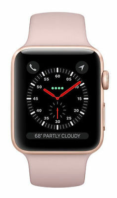 $ CDN525.83 • Buy Apple Watch Series 3 38 Gold With Pink Sand Sport Band (GPS + Cellular)