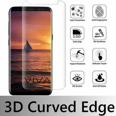 $ CDN4.05 • Buy Tempered Glass Full Coverage Clear Screen Protector For Samsung Galaxy S7 Edge