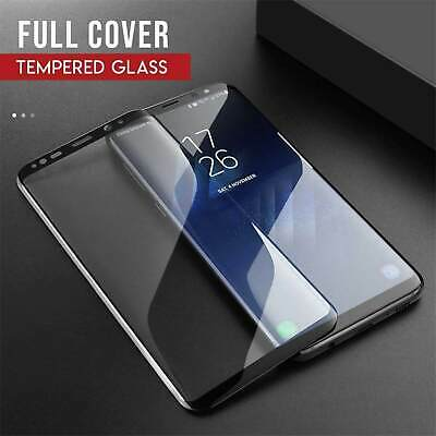 $ CDN5.11 • Buy Tempered Glass Full Coverage Black Screen Protector For Samsung Galaxy S7 Edge