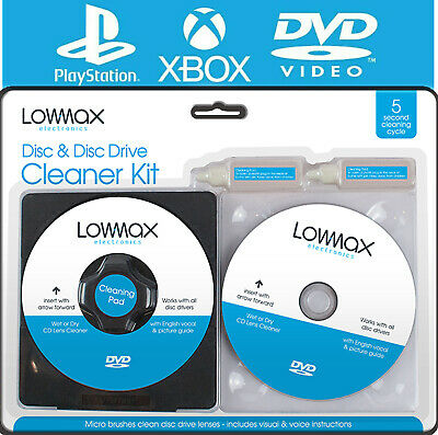 £2.95 • Buy 🔥Laser Lens Cleaner Cleaning Kit PS3 XBOX 360 BLU RAY DVD PLAYER CD DISC Car UK