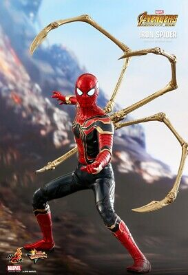 AU475 • Buy Hot Toys Iron Spider - Avengers 3: Infinity War 1/6 Scale MMS482