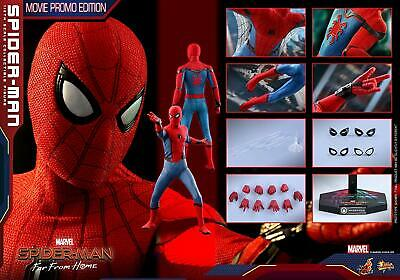 AU599.82 • Buy Hot Toys 1/6 Spider Man Far From Home Spider Man Movie Promo MMS535 Japan Used