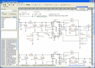 Electrical PCB Circuit Diagram Schematic Drawing Design CAD Software For Windows • 7.15£