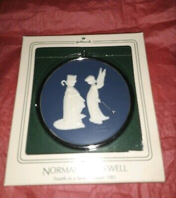 $ CDN10.96 • Buy Norman Rockwell Collection Hallmark Christmas Ornament 4th In A Series 1983