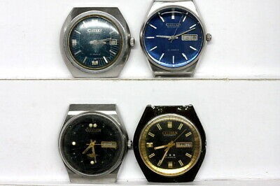 $ CDN85.42 • Buy Lot Of Citizen Automatic Watches For Parts - Lot Nr. 129491