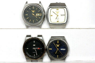 $ CDN102.01 • Buy Lot Of Seiko Automatic Watches For Parts - Lot Nr. 129474
