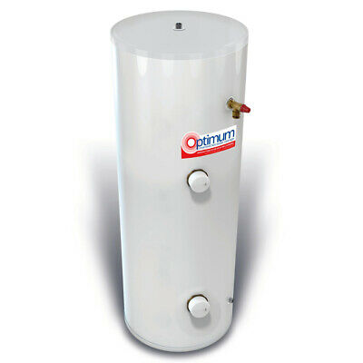 £358 • Buy RM Cylinders Optimum 150L Direct Unvented Cylinder Stainless Steel 25 Year