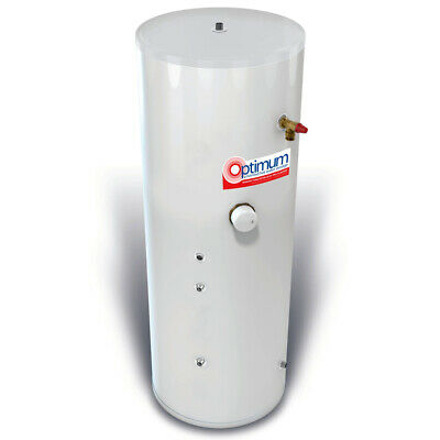 £455 • Buy RM Cylinders Optimum 210L Indirect Unvented Cylinder Stainless Steel 25 Year