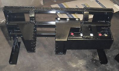 $1725 • Buy Heavy Duty Tree And Post Puller For Skid Steer, Hydraulic