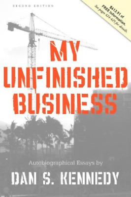 Kennedy Dan-My Unfinished Business BOOK NEUF • 20.70£