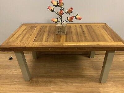 Hand Made Solid Wood Iroko African Teak Coffee Table • 99£