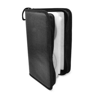 AU19 • Buy Gecko Portable CD DVD Storing Wallet Case Pouch W/96 Sleeve/Fabric Lining Black