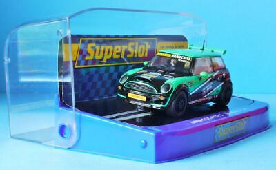 New Boxed Scalextric Mini Cooper S Neil Newstead 77 H3743 Superslot Superclub • 33.99£