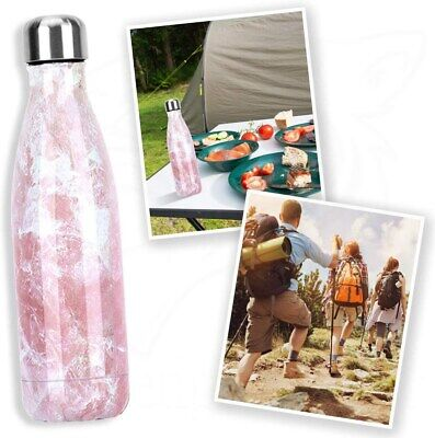 AU20.68 • Buy 500ML Fashion Stainless Steel Vacuum Insulated Bottle Water Bottles Thermoses