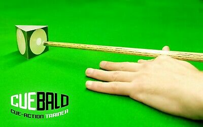 Snooker, Pool, Billiards Training Aid For A True & Straighter Cue Action Trainer • 5.99£