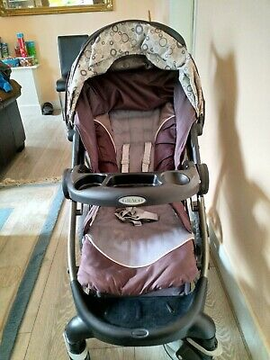 GRACO MODES Click Connect Travel System Stroller Good Condition • 50£