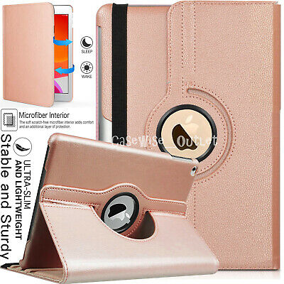 £5.96 • Buy For Apple IPad 10.2  2019 (7th Generation) 360 Rotating Leather Smart Case Cover