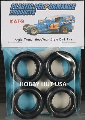 #ATG - Angle Tread Goodyear Style - 15  Dirt  Racing Tires - PPP 1/25 - NEW ITEM • 9.99$