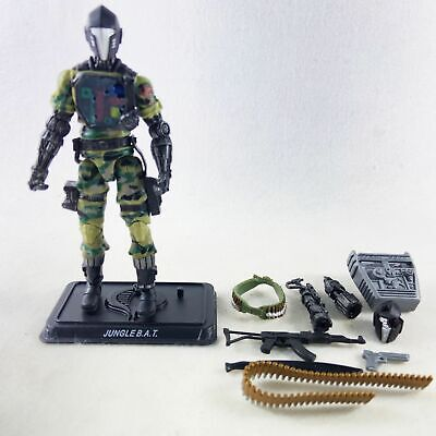 $ CDN13.05 • Buy G.I. Joe Pursuit Of Cobra Action Figure Jugle BAT With Exta Head Weapons Stand