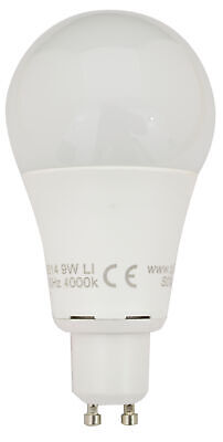Tp24 9W Frosted GLS LED Light Bulb Cool White 1050 Lumens L1/GU10 Cap • 9£