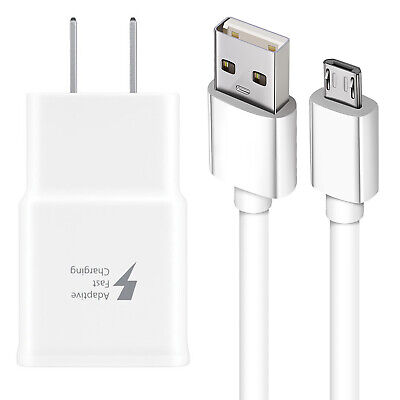 $ CDN19.35 • Buy Adaptive Rapid Fast Charger For Original Samsung Galaxy S7 S6 Edge Note 5 Note 4