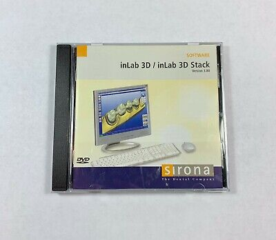 Sirona CEREC InLab 3D / InLab 3D Stack Version 3.80 (released 2010) • 134.96$
