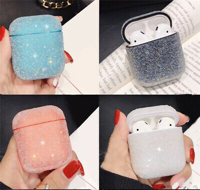 $ CDN11.23 • Buy Sparkling Rhinestone Airpods Protective Cover Case For Apple Bluetooth Airpods