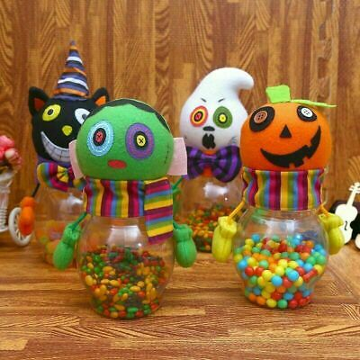 $10.49 • Buy Cute Candy Jar Gift Ghost Pumpkin Bottle Party Room Table Decoration Classroom