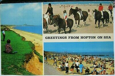 England Greetings From Hopton On Sea - Posted 1979 • 4.99£