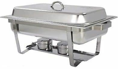 £39.99 • Buy Chafing Dish Buffet Catering Party Food Warmer Container Stainless Steel 9.5 Ltr