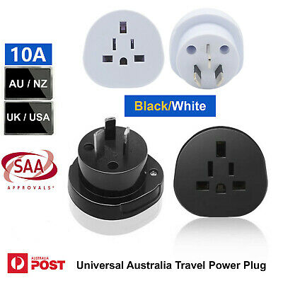 AU13.01 • Buy SAA ROHS Universal Australia Travel Power Plug Adapter Converter US/EU/UK To AU