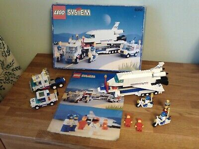 Lego System 6346 - Space Shuttle Launching Crew - Complete + Instructions + Box  • 60£