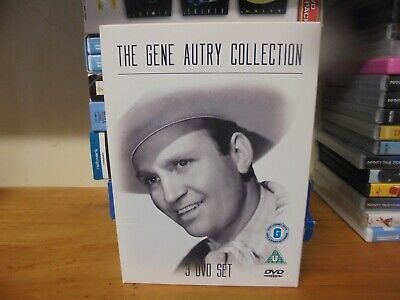 The Gene Autry Collection (DVD, 2008, 3-Disc Set, Box Set) • 9.95£