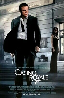 Ian Lancaster FLEMING / MOVIE POSTER Casino Royale • 95£