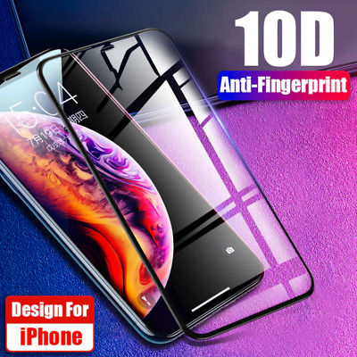 AU4.75 • Buy FULL COVERAGE Tempered Glass Screen Protector For Apple IPhone 11 Pro Max X XS 8