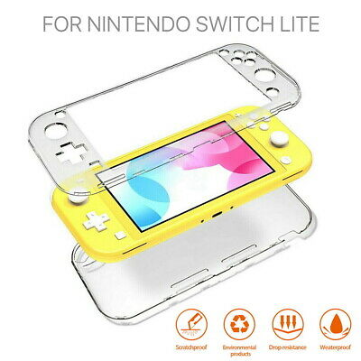 AU11.99 • Buy For Nintendo Switch Lite Transparent Clear Shockproof Protective Hard Case Cover