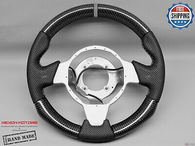 $ CDN2828.44 • Buy Lotus Elise Exige CupS Sport Gray Ring Perforated Thick Carbon Steering Wheel V1