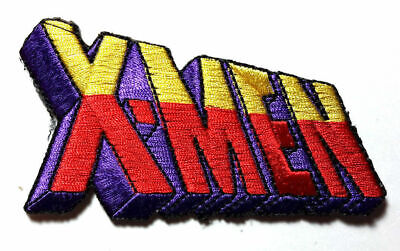 £5.03 • Buy X-Men Color Logo 3.5  Embroidered Patch- Die Cut- Mailed From USA
