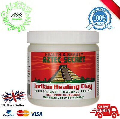 AU26.76 • Buy Aztec Secret Indian Healing Bentonite Clay Deep Pore Cleansing 1 Pound
