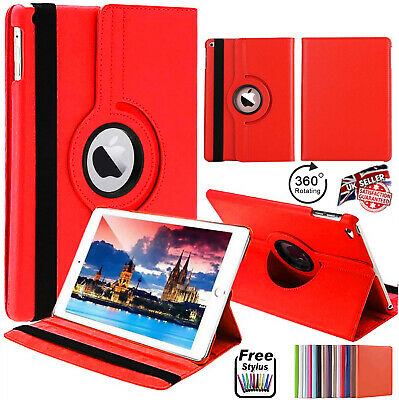 Pu Leather 360 Rotating Smart Stand Case Cover For Apple IPAD Mini Pro Air 10.2 • 3.97£