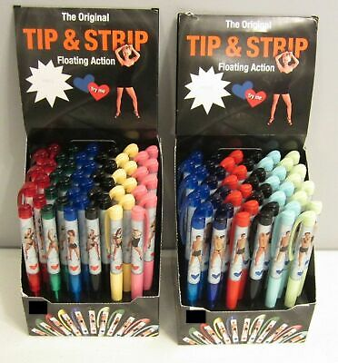 £6.59 • Buy Tip And Strip Tease Pen Sexy Naughty Fun Unusual Birthday Gift For Him Her Men