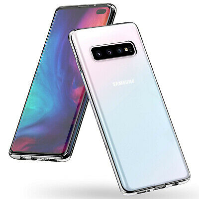 $ CDN3.37 • Buy CLEAR Case For Samsung Galaxy S10 Plus S10e S9 S8 Silicone Gel Shockproof Cover